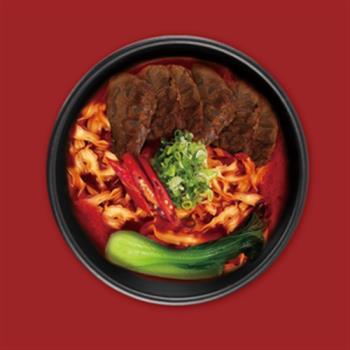 東森嚴選阿一鮑魚麻辣半筋半肉牛肉麵熱銷搶購組