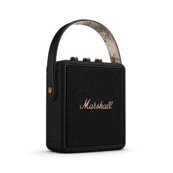 【Marshall】Stockwell II 便攜式立體聲防水藍牙喇叭 黑色