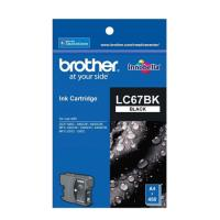 Brother LC67BK 原廠黑色墨水匣