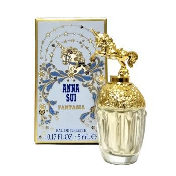 ANNA SUI 安娜蘇 童話獨角獸女性淡小香水(5ml)加贈零錢包