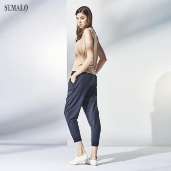【ST.MALO】零觸感顯瘦防蚊防曬莫代爾長褲-1773WP-深丈青