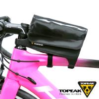 TOPEAK Tri DryBag 綁帶式防水便利置物袋/上管包-黑