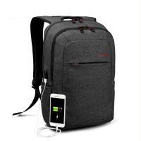 DF BAGSCHOOL - 韓版型男機能款內建USB裝置後背包