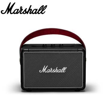 【Marshall】KILBURN II 便攜式立體聲防水藍牙喇叭 黑色