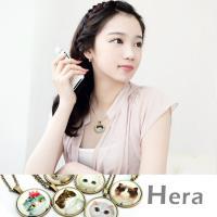 Hera 赫拉 貴族貓咪物語時光寶石項鍊/ 鎖骨鍊(七款任選)