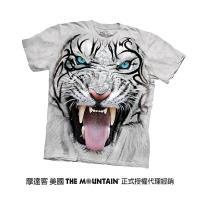 【摩達客】美國進口The Mountain 部落白虎 純棉環保短袖T恤