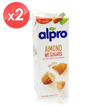 ALPRO 無糖杏仁奶2瓶組(1公升*2瓶)