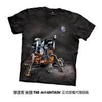 【摩達客】美國進口The Mountain Smithsonian系列阿波羅登月小艇 純棉環保短袖T恤