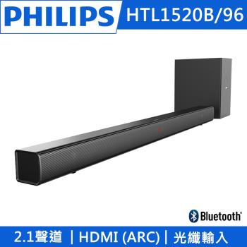 PHILIPS 環繞音響Sound Bar HTL1520B/96