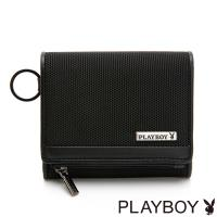 PLAYBOY- 名片夾 Action系列 -黑色
