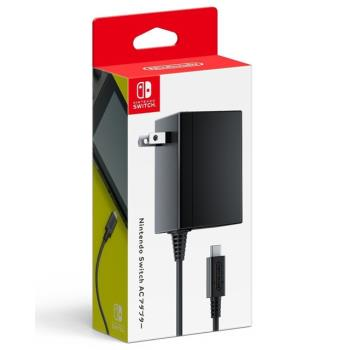 【Nintendo 任天堂】Switch 主機原廠變壓器電源線 支援TYPE-C(原裝進口)