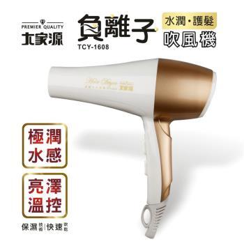大家源 負離子水潤護髮吹風機TCY-1608
