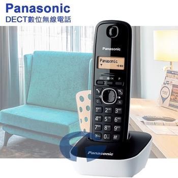 Panasonic 松下國際牌DECT數位無線電話 KX-TG1611 (純淨白)