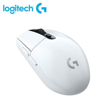 【logitech 羅技】G304 LIGHTSPEED 無線電競滑鼠 白色 【贈純水柔濕巾】