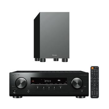 Pioneer 先鋒 VSX-326 AV環繞擴大機+S-13W 重低音喇叭