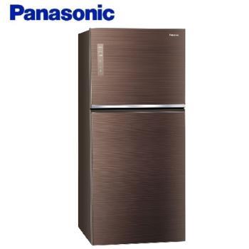 買就送千元商品卡+雙面砧板+6吋陶瓷刀★Panasonic國際牌 650L 一級能效 雙門冰箱(翡翠棕) NR-B659TG-T -庫(Y)
