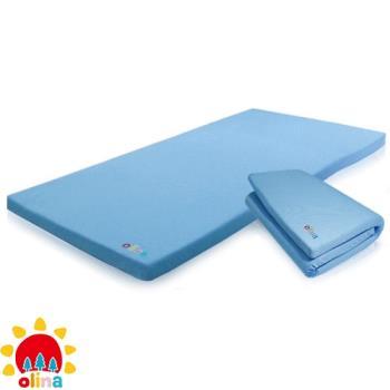 olina_MIT透氣防蹣3M兒童記憶床墊-3M涼感抗菌床套+日本高密度記憶棉