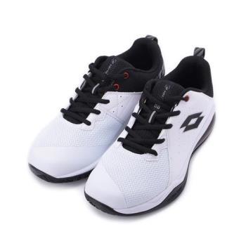LOTTO FLY POWER 氣墊籃球鞋 白黑 LT9AMB1189 男鞋 鞋全家福