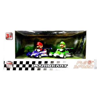 任天堂 超級瑪利歐 F1 迴力車2入組