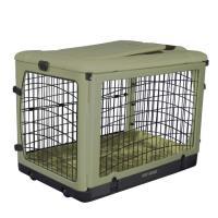 美國 Pet Gear摺疊寵物窩-豪華袋著走箱型摺疊舒適窩PG-5936 BSG(M)