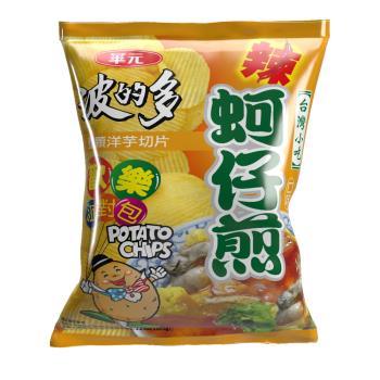 華元 波的多洋芋片厚切(辣味蚵仔煎)150g歡樂派對包