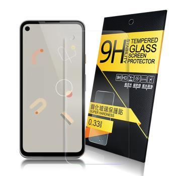 NISDA for Google Pixel 4a 鋼化9H玻璃螢幕保護貼-非滿版