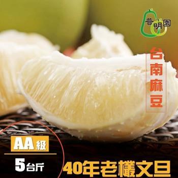 《普明園》AA級台南麻豆40年老欉文旦(5台斤/箱)