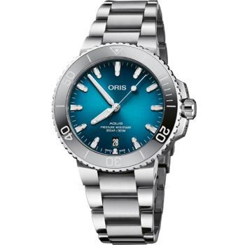 Oris 豪利時 Aquis時間之海300米潛水錶(0173377324155-0782105PEB)