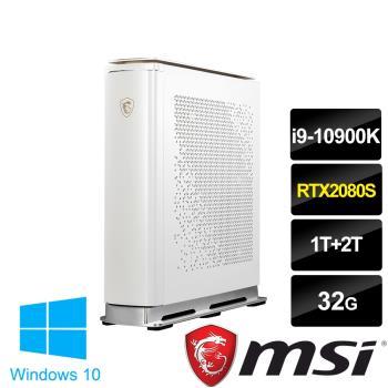 msi微星 Creator P100X 10SE-252TW桌上型電腦(i9-10900K/32G/1T+2T/RTX2080 Super-8G)