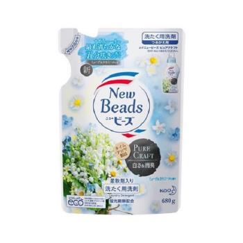 日本 花王kao New Beads純淨香氛洗衣精680g