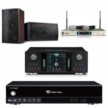 金嗓 CPX-900 A5電腦伴唱機 4TB+FNSD NO-1 擴大機+MR-300D IV 無線麥克風+FNSD SD-305 主喇叭