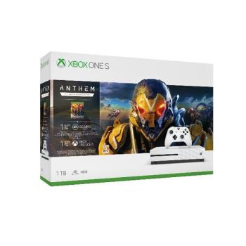 微軟Xbox One S 冒險聖歌 同捆組 根本最強藍光撥放器