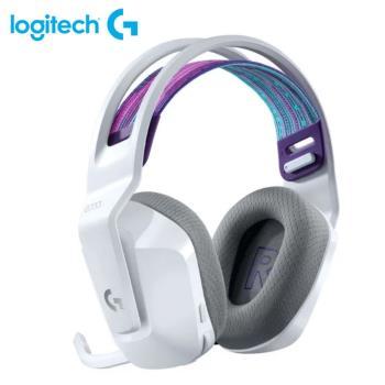 【Logitech 羅技】G733  RGB炫光無線電競耳機麥克風 白