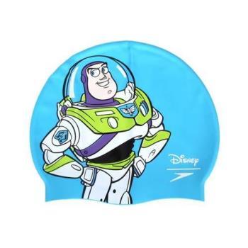 SPEEDO 成人矽膠泳帽-巴斯光年-玩具總動員 迪士尼 游泳 戲水