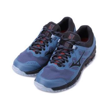 MIZUNO WAVE DAICHI 5 GTX 慢跑鞋 藍黑 J1GK205616 女鞋