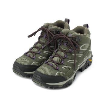 MERRELL MOAB 2 MID GORE-TEX 中筒健走登山鞋 橄欖綠 ML033268 女鞋