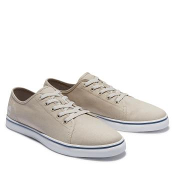 Timberland 男款米色Skape Park帆布休閒鞋A268UY94