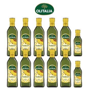 奧利塔頂級葵花油500毫升*10罐+奧利塔頂級葵花油250毫升*2罐