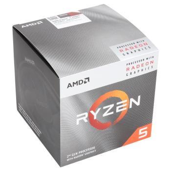 AMD Ryzen 5-3400G 3.7GHz 四核心處理器 R5-3400G (內含風扇)