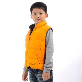 【FOX FRIEND】 兒童羽絨背心 雙面穿(0125)