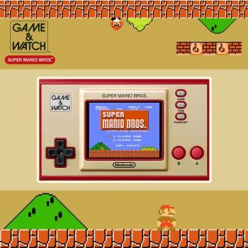 任天堂迷你紅白系列 Game & Watch 超級瑪利歐兄弟 35周年紀念跨界聯名攜帶型遊戲機