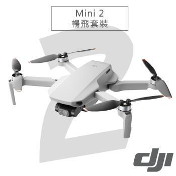 【贈Sandisk 記憶卡】DJI Mini 2 空拍機 暢飛套裝-公司貨