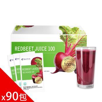 【BOTO】韓國原裝高濃度甜菜根紅妍飲x3盒(30包/盒)