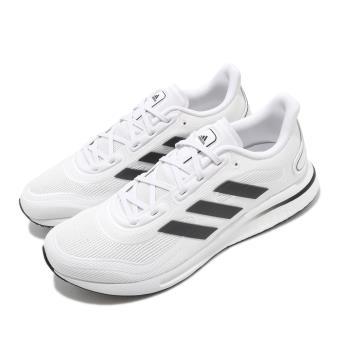 adidas 慢跑鞋 Supernova 運動 男鞋 愛迪達 路跑 緩震 Boost底 白 黑 FV6026 [ACS 跨運動]