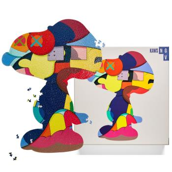 KAWS Jigsaw snoopy Puzzle 史努比潮流拼圖(正版1000片)