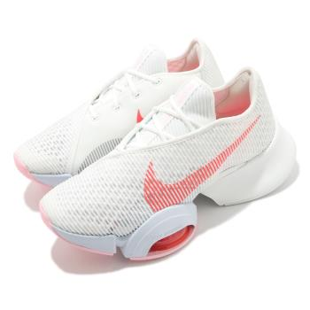 Nike 訓練鞋 Zoom SuperRep 2 女鞋 氣墊 舒適 避震 健身房 運動 球鞋 白 紅 CU5925100 [ACS 跨運動]