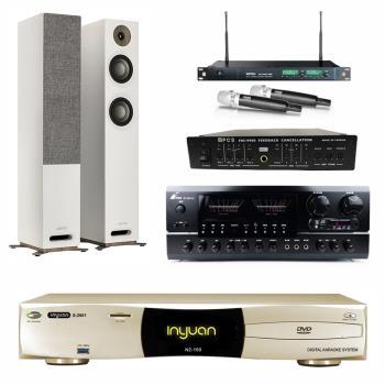 音圓S-2001 N2-150點歌機4TB+FPRO BT-889+MIPRO ACT-869+JAMO S 807+FBC-9900