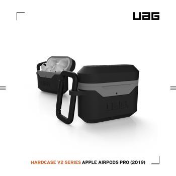 UAG AirPods Pro 耐衝擊硬式保護殼V2-黑灰