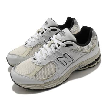 New Balance 休閒鞋 2002R 經典款 運動 男女鞋 紐巴倫 舒適 簡約 情侶穿搭 球鞋 白 黑 ML2002RQD [ACS 跨運動]