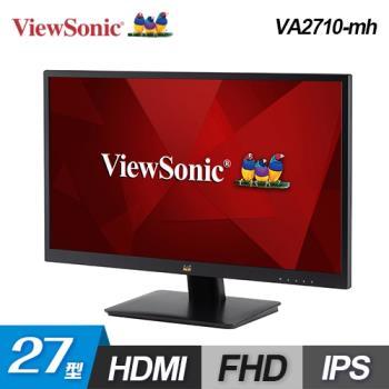 【ViewSonic 優派】VA2710-mh 27型 IPS 面板 FHD螢幕
